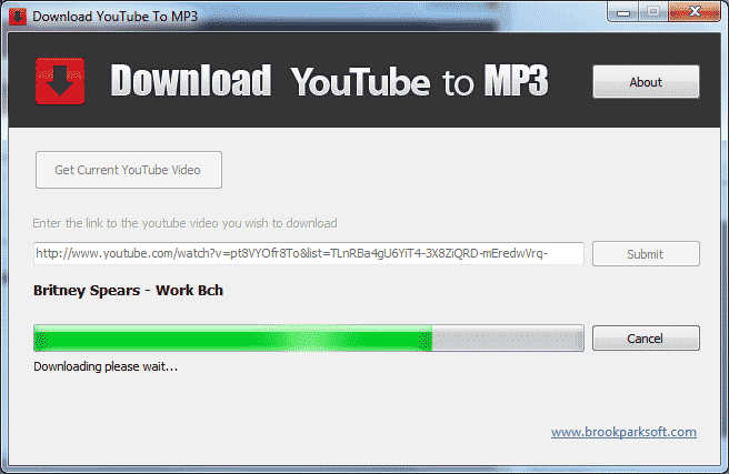 Youtube mps3 converter